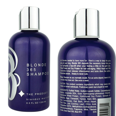 Blonde 365 Shampoo-Powerful Purple Toning Shampoo