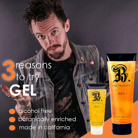 Firm Hold Hair Gel For Texture & Shine