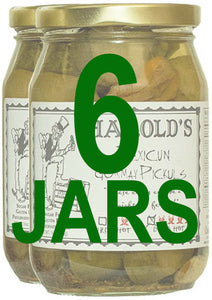 Harold's Dern Hot Pickles - 2, Pint Jars