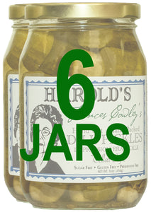 Harold's Frances Cowley's Dill Pickles  - 2, Pint Jars