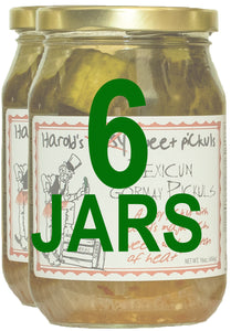 Harold's Sissy Sweet Pickles  - 2, Pint Jars