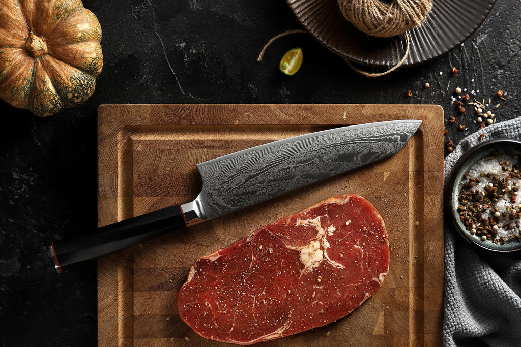 Atom Series Damascus Steel Chef Knife