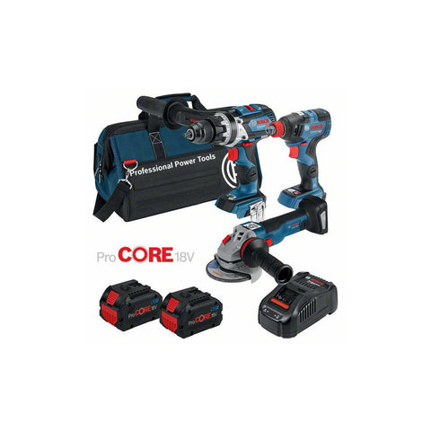 BOSCH 8.0ah ProCORE 18V 3PC Cordless Kit