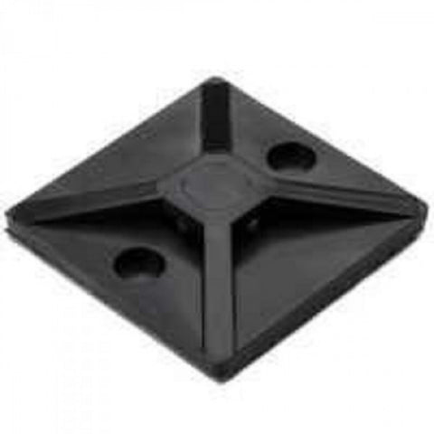 Hellermann Cable Tie Mounting Base 28.5x28.5mm