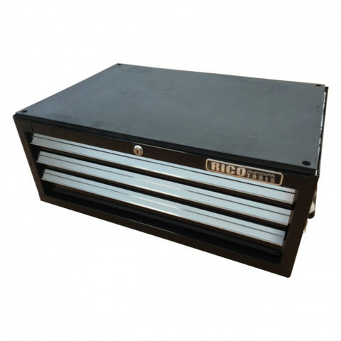 Black 3 Draw Stacker Tool Chest