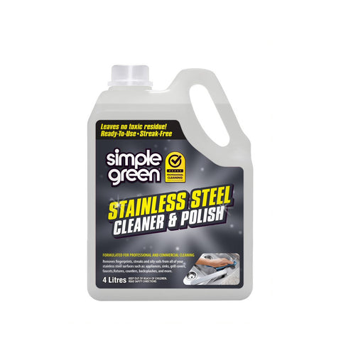 SIMPLE GREEN® Stainless Steel Cleaner And Polish Refill 4L