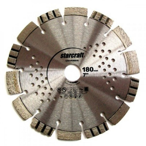 Diamond Cutting Wheel Segmented 180mm