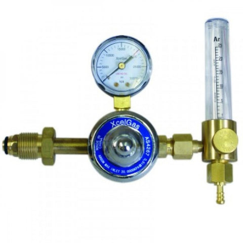 Xcelgas Argon Flowmeter Regulator 25 L/Min