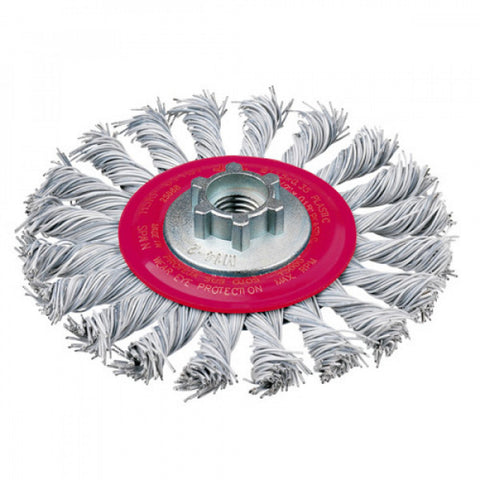 Jaz Twist Knot Wire Wheel (Laminated Wire)