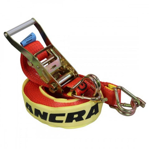 ANCRA Truck Tie Downs 5 PACK - Red