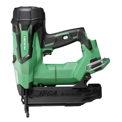 HiKOKI 18V Gasless 18G Straight Brad Nailer 50mm - BARE TOOL