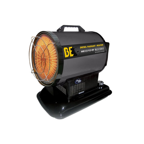 BE Diesel Fired Radiant Heater 70000BTU