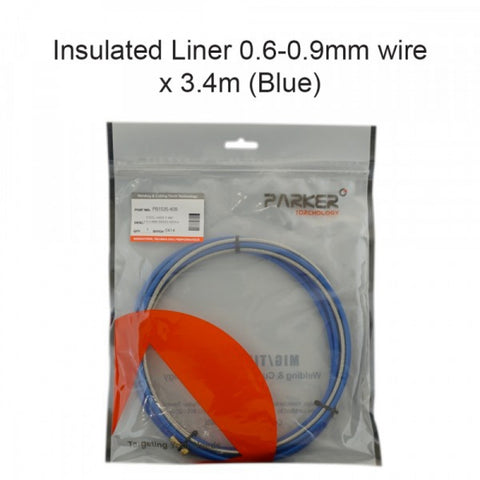 Insulated Liner 0.6-0.9mm Wire x 5.4m (Blue)
