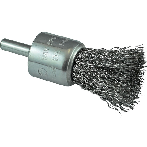Itm Crimp Wire End Brush Hss 12mm