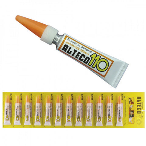 Alteco Super Glue 3g (12/Card)