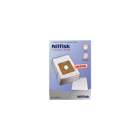 Nilfisk Action/Bravo/Sprint Series Vacuum Bags
