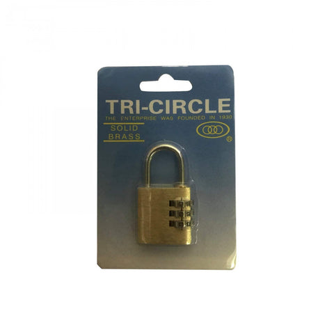 KD-T1025 Combination Padlock 25mm 1 Per Card