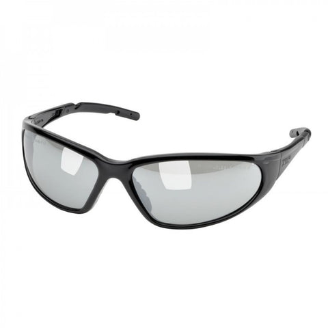 XTS Safety Glasses Black Frame Mirror Lens Elvex