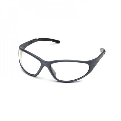 XTS Safety Glasses Blue Frame Clear Af Lens Elvex