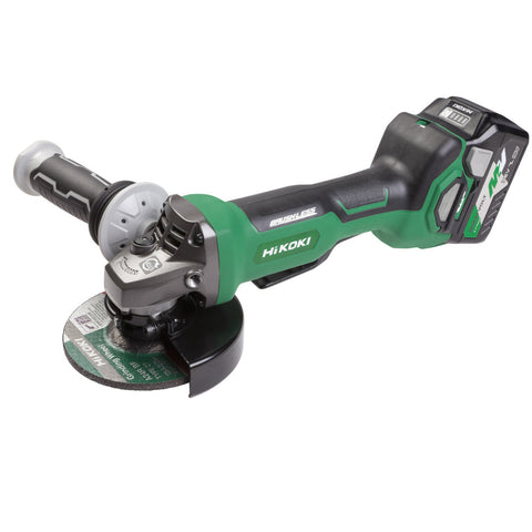 36V Brushless 125mm Angle Grinder Kit G3613DB(GRZ) HiKOKI
