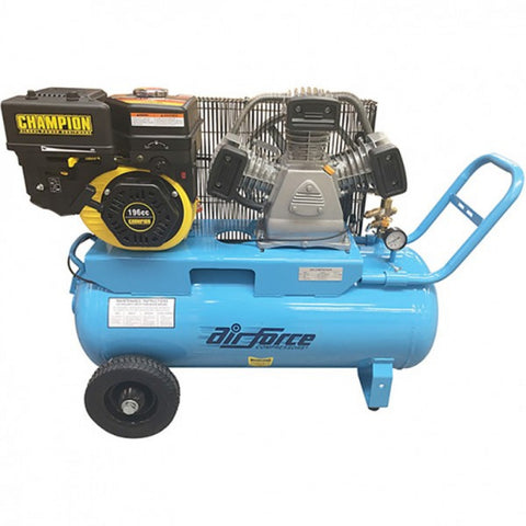 Sulco 6.5h.p 196ccPetrol Compressor With Champion Engine