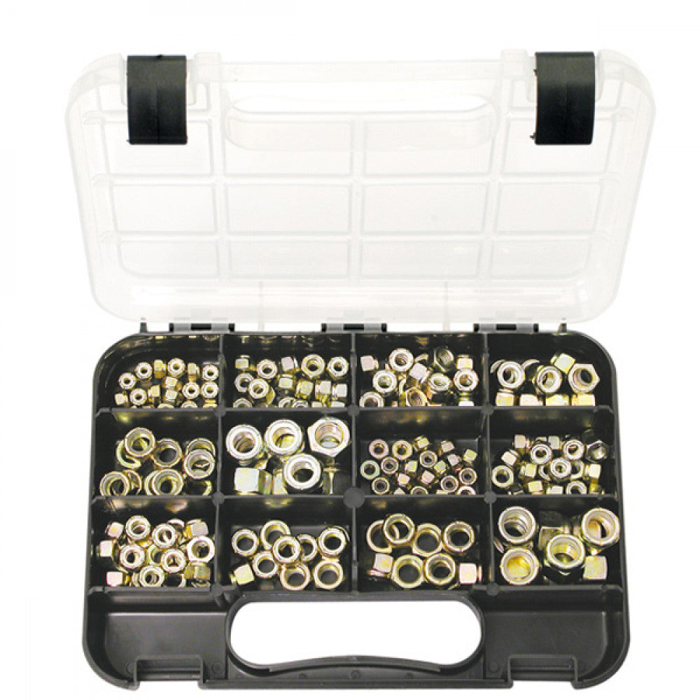 Gj Grab Kit 180Pc Self-Lock Nuts Imperial