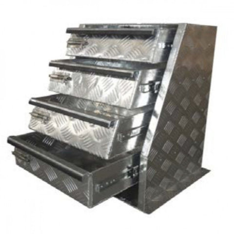 Aluminium Drawer Unit Heavy Duty 480 x 665 x 420