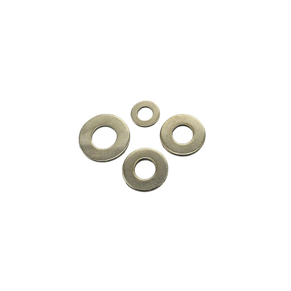 M10 Flat Washer Heavy Duty x 200pc Zinc Plated