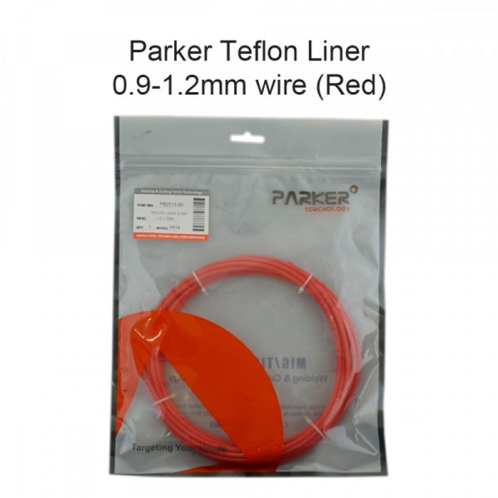 Teflon Liner 1.0-1.2mm x 4.4m For Soft Wire (Red) | MyTools