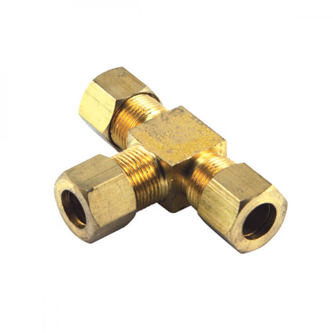 1/4in Bsp Brass 'T' Union Connector (Bp)