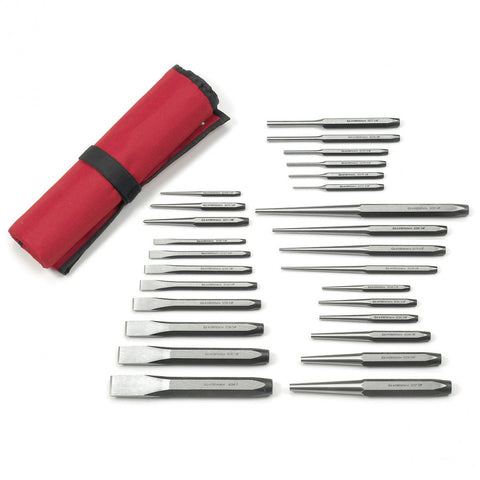 GearWrench 27 Pc. Punch And Chisel Set