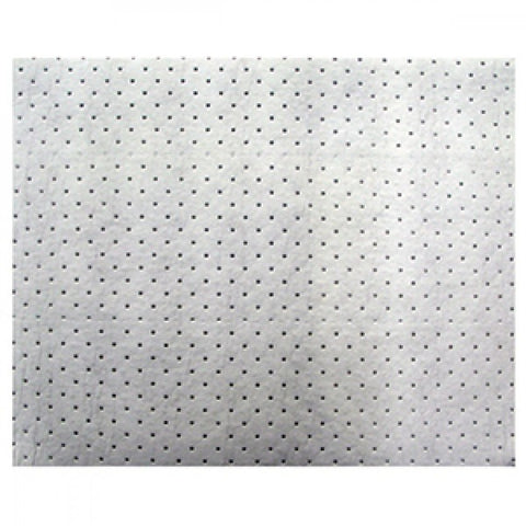 Isl Sorbent Mat - 500 x 400 x 4mm - Oil (White) -
