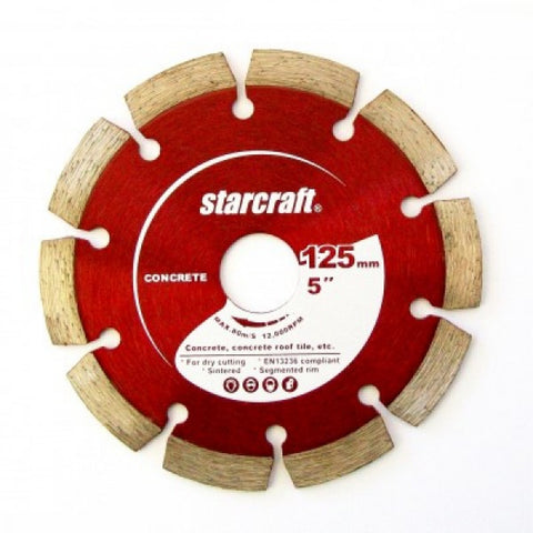2 Pack Diamond Cutting Wheel Segmented 125mm