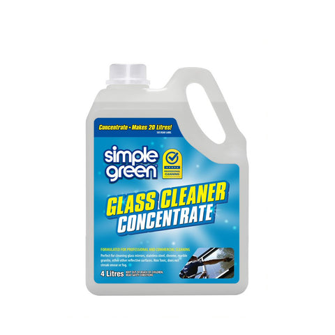SIMPLE GREEN® Glass And Mirror Cleaner Concentrate 4L