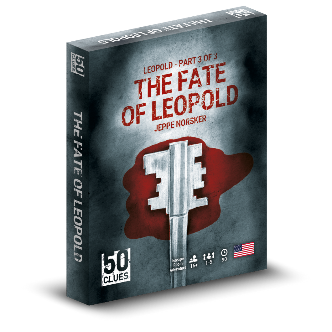 50 Clues: The Fate of Leopold (EN)