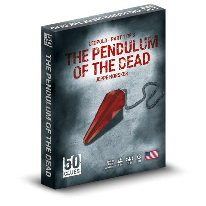 50 Clues: The Pendulum of the Dead (EN)