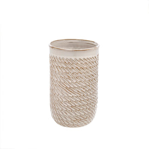 Sombrio Vase Medium - Cream