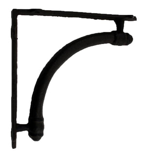 Cast Iran Bracket - Black