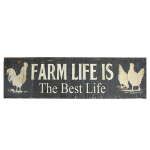 Farm Life Best Life - Sign