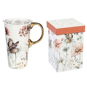 Ceramic Travel Mug - Botanical Dreamer