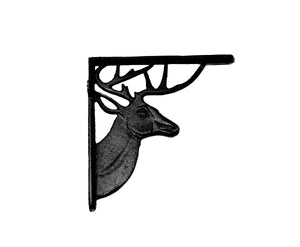 Deer Shelf Bracket - Black