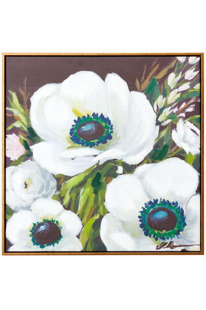 Flowers Painted Frame - Multi