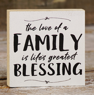 Family Blessing - White