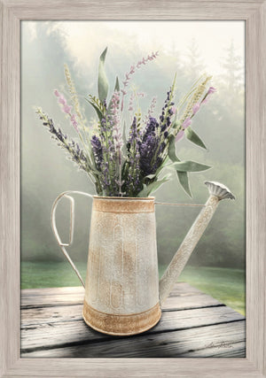 Lavender Watering Can - Grey