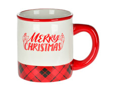 Merry Christmas Mug - Red