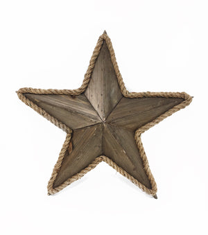 Wooden Star - Natural
