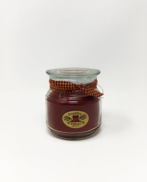Small Candle Jar - Cranberry