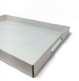 Shiny Tray - White