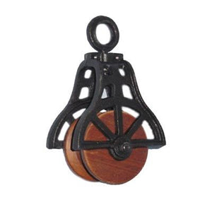 Small Pulley - Brown & Black