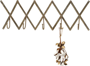 Adjustable Accordion Coat Hanger - Metal